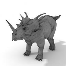 角龙-动物-古生物-CG模型-3D城
