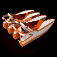 双体船游乐船-船舶-其它-CG模型-3D城