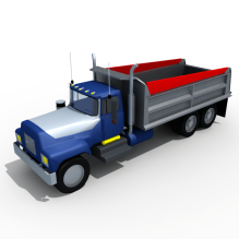 卡车-汽车-卡车-CG模型-3D城