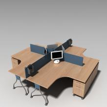 桌子 -家居-桌椅-CG模型-3D城