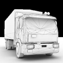 TRUK 货车-汽车-卡车-CG模型-3D城