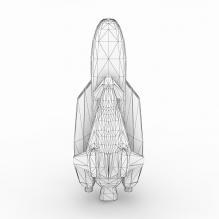 航天飞机-科技医疗-航天卫星-CG模型-3D城