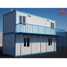 平板房-室外建筑-基础设施-CG模型-3D城