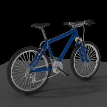 山地自行车-汽车-自行车-CG模型-3D城