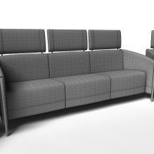 商务沙发-家居-沙发-CG模型-3D城