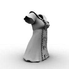裙子-生活办公用品-服装饰品-CG模型-3D城
