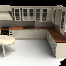 现代厨房-建筑-厨房-VR/AR模型-3D城