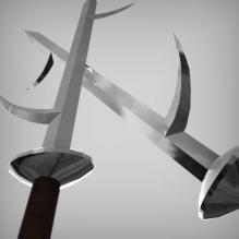 雷刀——牙-艺术-个性创意-CG模型-3D城