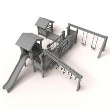 滑梯-体育_爱好-CG模型-3D城