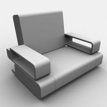 多功能沙发-家居-沙发-CG模型-3D城