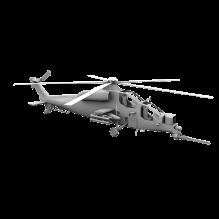 16102 战地2 中国武直10-飞机-军事飞机-CG模型-3D城