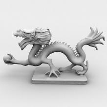 雕塑-艺术-艺术品-CG模型-3D城