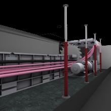 TM1型电力机车-汽车-火车-CG模型-3D城