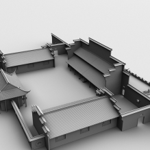 古建-室外建筑-古建筑-CG模型-3D城