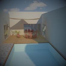 别墅-室外建筑-住宅-CG模型-3D城