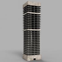 在建大楼-室外建筑-工业_厂房-CG模型-3D城
