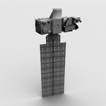 Aura卫星-科技医疗-航天卫星-CG模型-3D城
