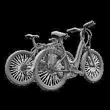 自行车-汽车-自行车-CG模型-3D城