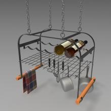 搁物架-家居-厨具-CG模型-3D城