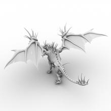 恐龙-动物-古生物-CG模型-3D城