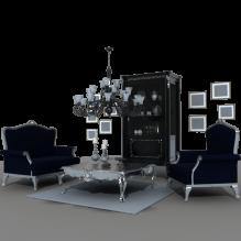 客厅-家居-其它-CG模型-3D城