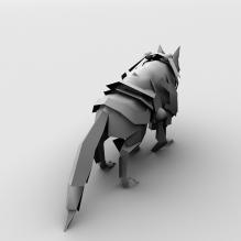 神话OL角色-动物-科幻-CG模型-3D城