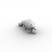 狼兽-动物-哺乳动物-CG模型-3D城