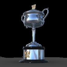 澳网女单冠军奖杯-艺术-艺术品-CG模型-3D城