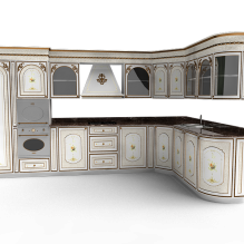 组合橱柜-家居-厨具-CG模型-3D城