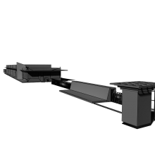 大门及周边-室外建筑-工业_厂房-CG模型-3D城