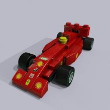 乐高版F1-游戏_玩具-3D打印模型-3D城