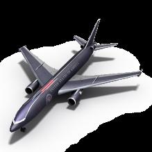 飞机-飞机-喷气-CG模型-3D城