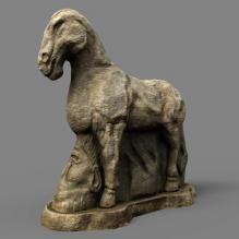 马踏匈奴-艺术-艺术品-CG模型-3D城
