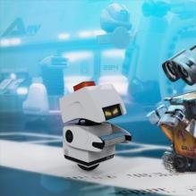 机器人总动员mo-动物-科幻-CG模型-3D城
