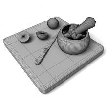 砧板-家居-厨具-CG模型-3D城