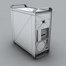 电脑主机-电子产品-电脑-CG模型-3D城