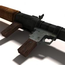 肩扛式榴弹炮-军事_武器-枪-CG模型-3D城