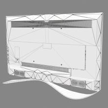 乐视超级电视X60-电子产品-CG模型-3D城