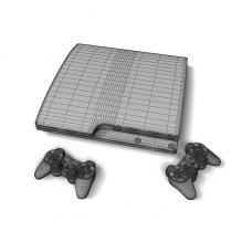 游戏机-电子产品-其它-CG模型-3D城