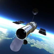 哈勃望远镜-科技医疗-CG模型-3D城