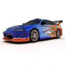 迷你汽车-汽车-CG模型-3D城