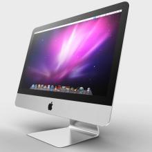 苹果ME086CHA iMac一体机-电子产品-CG模型-3D城