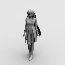 街舞区MM-人物_角色-女人-CG模型-3D城