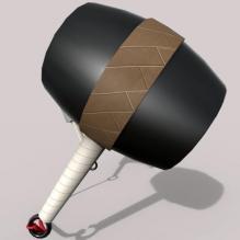 钝刀——兜割-艺术-个性创意-CG模型-3D城
