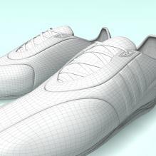 鞋-生活办公用品-服装饰品-CG模型-3D城