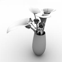 盆栽-植物-盆栽-CG模型-3D城