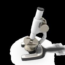 显微镜-科技医疗-实验室设备-CG模型-3D城