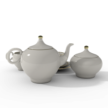 白茶集瓷器-工业设备-工具-CG模型-3D城