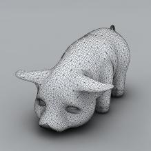 猪-动物-哺乳动物-CG模型-3D城