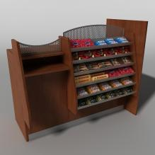 商品展示柜-家居-柜子-CG模型-3D城